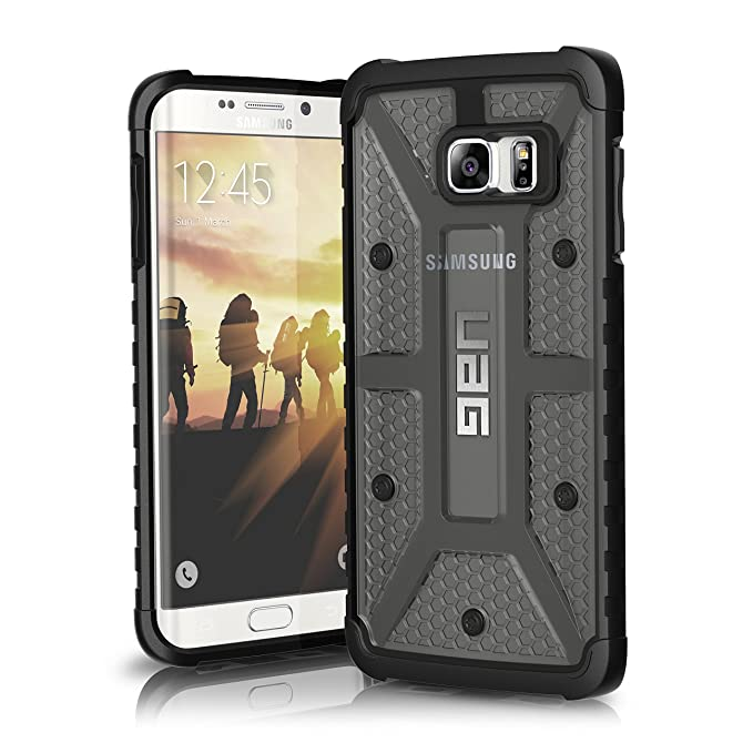 premium selection 416f0 63ce4 URBAN ARMOR GEAR [UAG] Samsung Galaxy S6 Edge Plus [5.7-inch Screen]  Feather-Light Composite [Ash] Military Drop Tested Phone Case