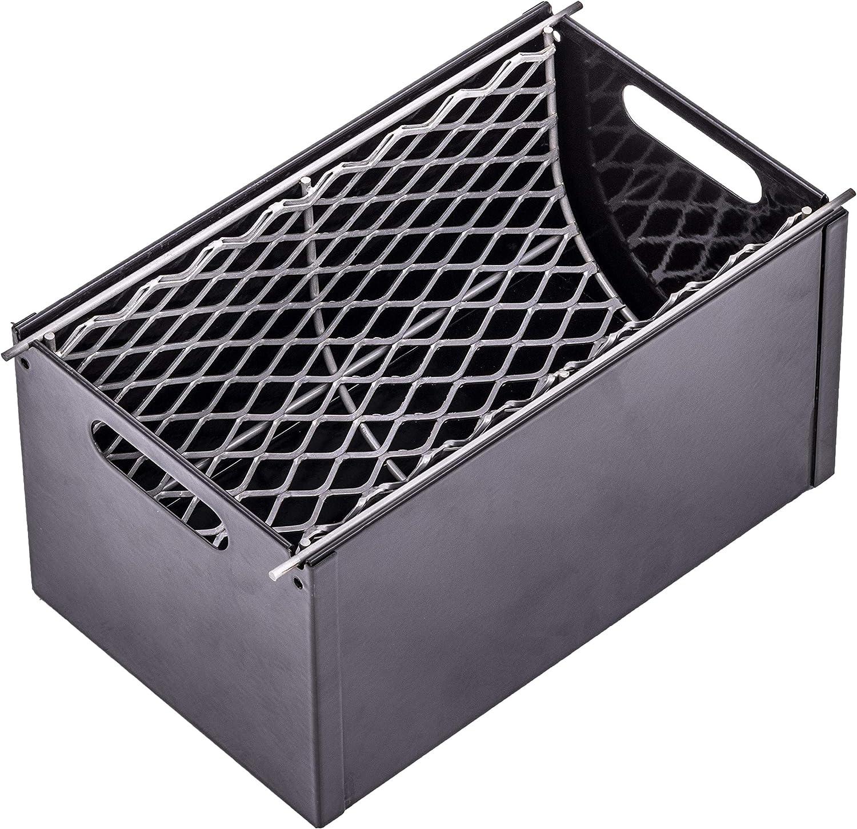 Oklahoma Joe's 3697490W01 Charcoal Grill Smoker Box, Gray: Garden & Outdoor