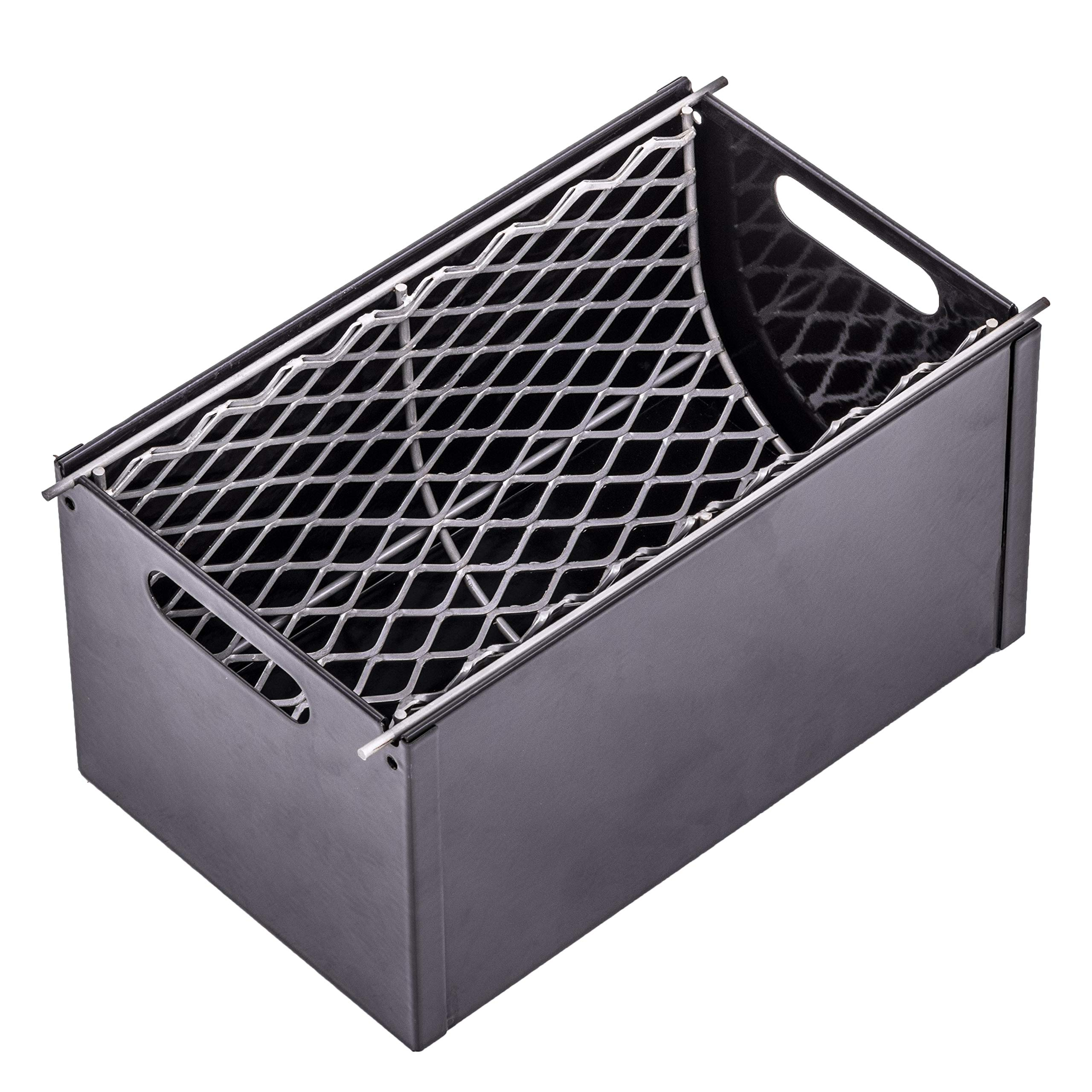Oklahoma Joe's 3697490W01 Charcoal Grill Smoker Box, Gray by Oklahoma Joe's