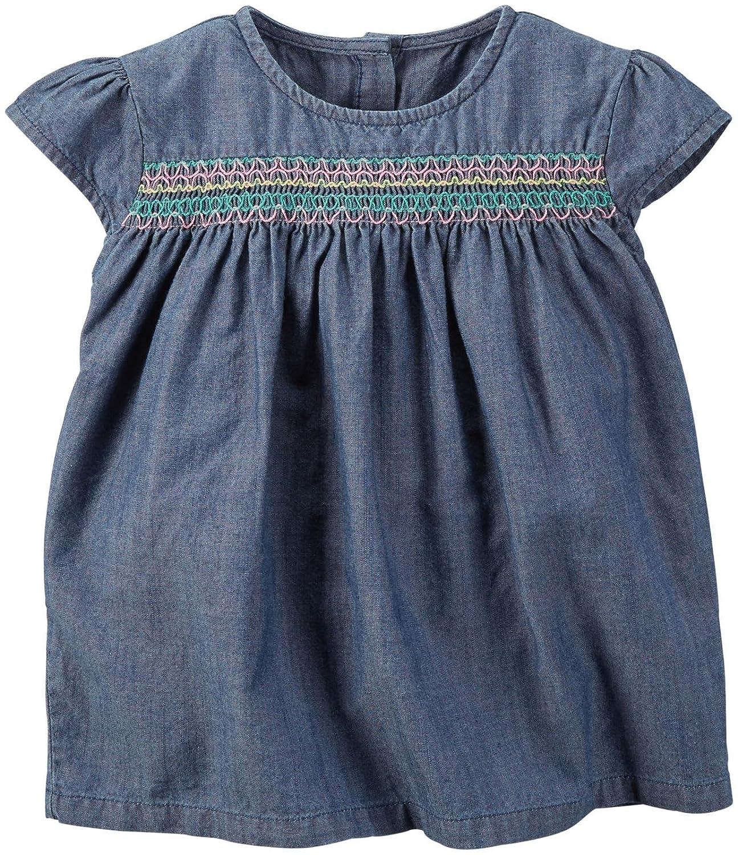 55924850b Amazon.com: Carter's Baby Girls' Smocked Top 235g325: Clothing