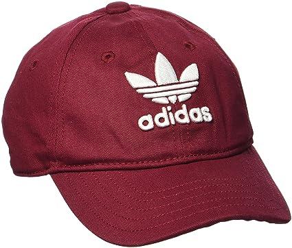 29772dd76 adidas Women's Trefoil Cap, Collegiate Burgundy/White, One Size ...