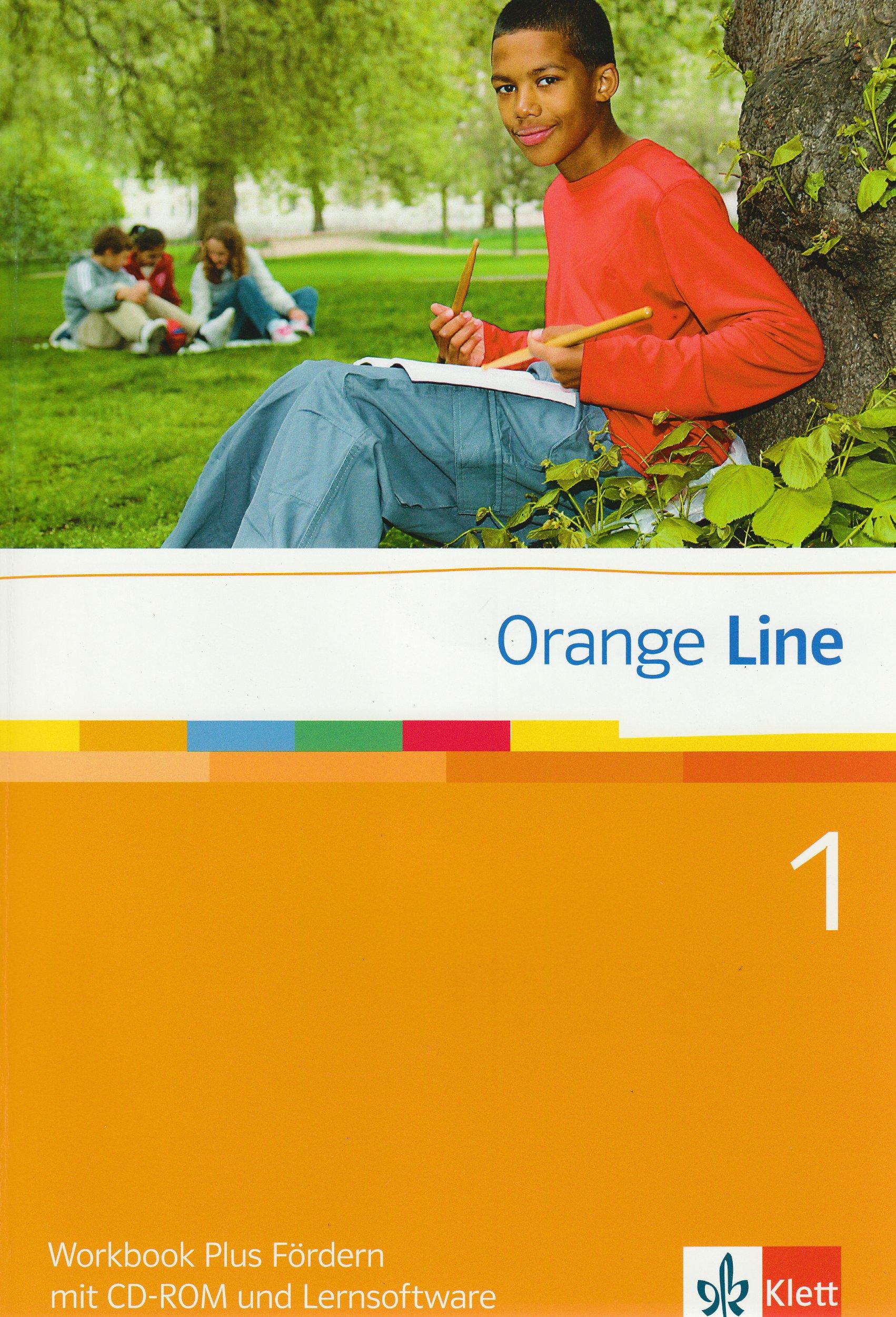 Orange Line / Workbook plus Fördern mit CD-ROM + Lernsoftware Teil 1 (1. Lehrjahr)