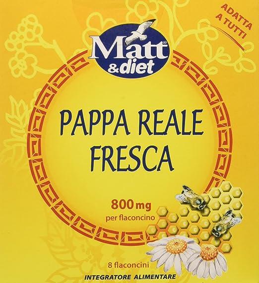 4 opinioni per Matt&Diet Pappa Reale Fresca- 64 ml