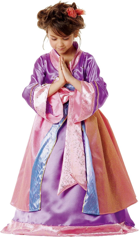 César - Disfraz de princesa Japonesa o Geisha para niña (de 3/5 ...