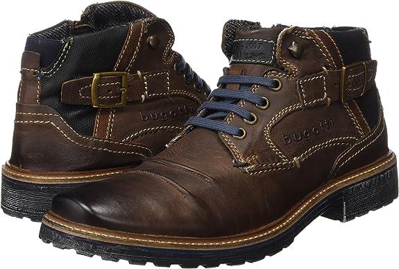 bugatti Herren 311382323232 Klassische Stiefel Kurzschaft Stiefel