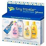 Johnson's Tiny Traveler, Baby Bath And Baby Skin