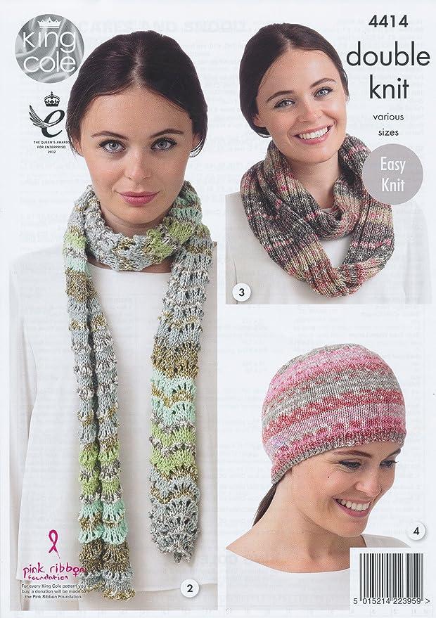 Amazon King Cole Ladies Double Knitting Pattern Womens