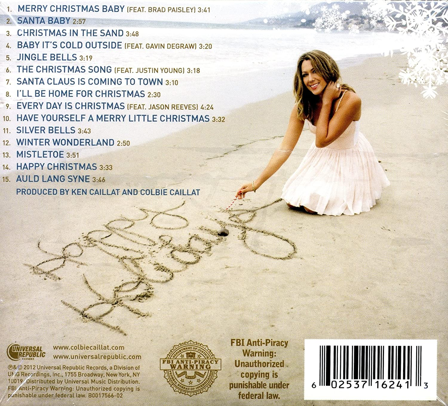 Colbie Caillat, Brad Paisley, Gavin DeGraw, Justin Young, Jason ...