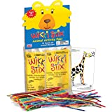 WikkiStix Non-Toxic, American-Made Bring 12 Fun Animals to Life in Individual Packets, with Fun fact in Each in Animal Activi