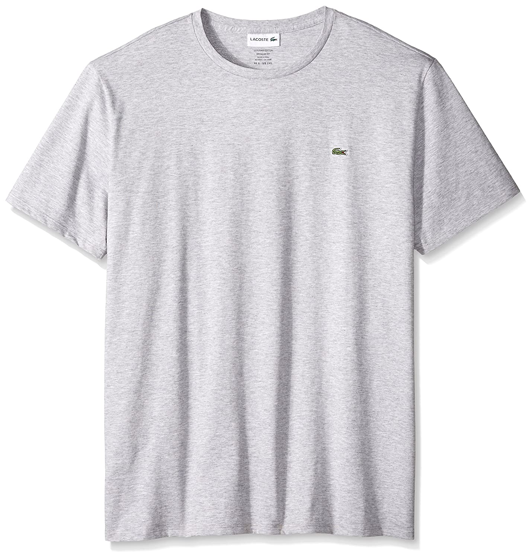 Lacoste スタンダード半袖ジャージー ピマ レギュラーフィット クルーネック Tシャツ、Th6709 – 51 B01M4LY3KU 6|Silver Chine Silver Chine 6