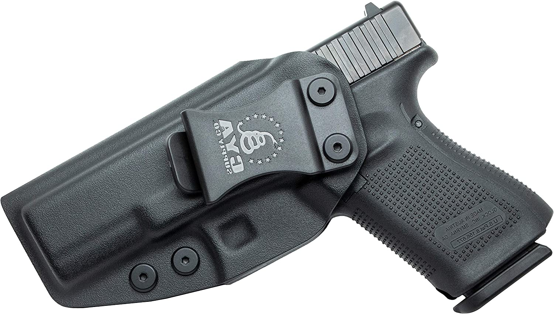Cya suministro Co. iwb funda Compatible con Glock Glock Glock 19 ...