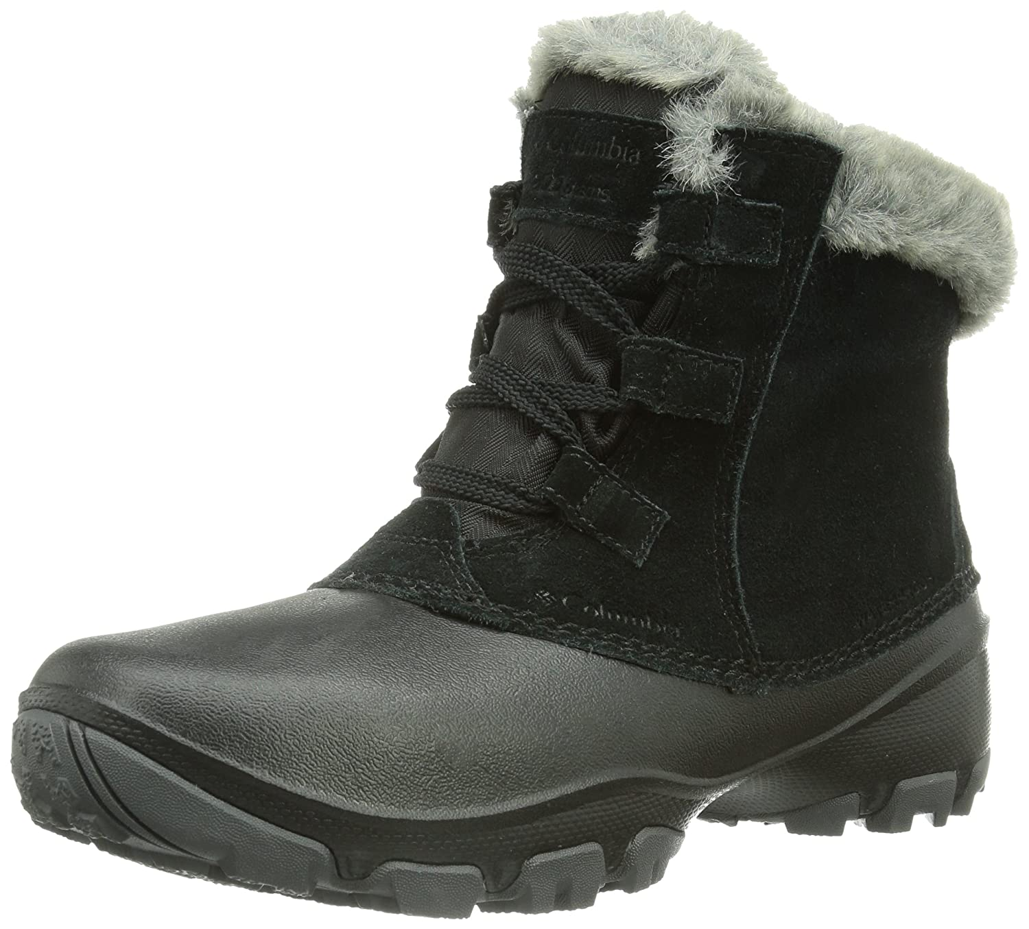 Columbia Women's Sierra Summette Shorty Winter Boot B00GW95UD0 7 B(M) US|Black, Red Plum