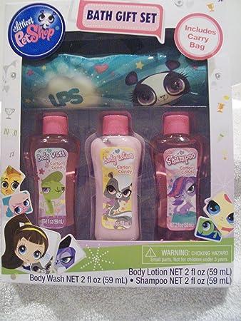 0e29dc2f76fb Amazon.com : Littlest Pet Shop Bath Gift Set : Bath And Shower ...