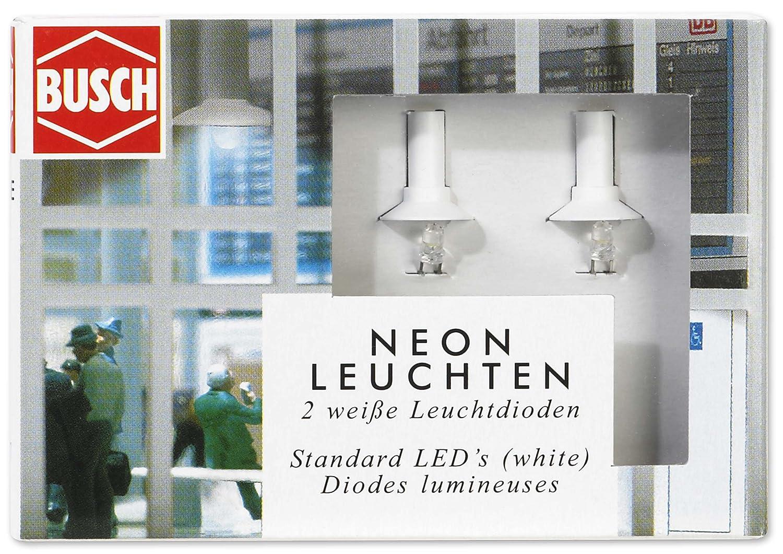Busch 5987 - Neon-Leuchten (weiße LEDs): Amazon.de: Spielzeug