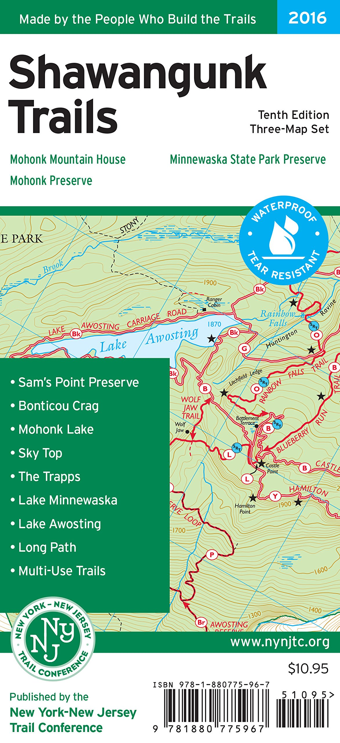 Shawangunk Trails Map: Minnewaska State Park Preserve ... on powder mountain map, deer mountain map, ascutney mountain resort map, titus mountain map, copper mountain map, mammoth mountain map, shirley mountain map, october mountain map, blue mountain ski area map, windham mountain map, bristol mountain map,