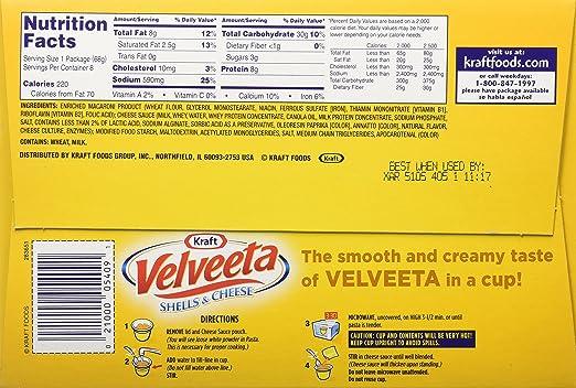 recipe: velveeta mac and cheese box nutrition [15]