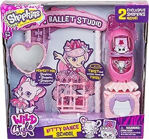 Shopkins Season 9 Wild Style - Kitty Dance School Playset