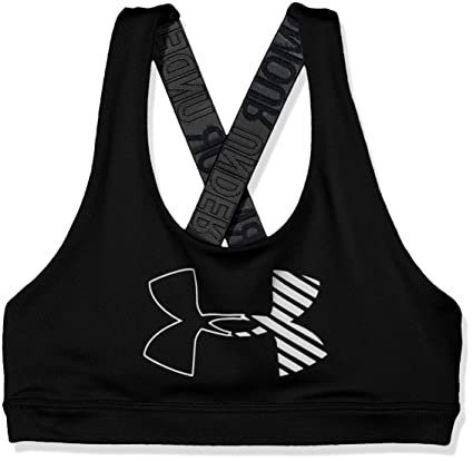 a7a30d50f72a9 Amazon.com  Under Armour HeatGear Armour Graphic Sports Bra  Sports ...