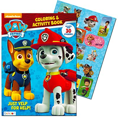 Paw Patrol Coloring & Activity Book: Toys & Games