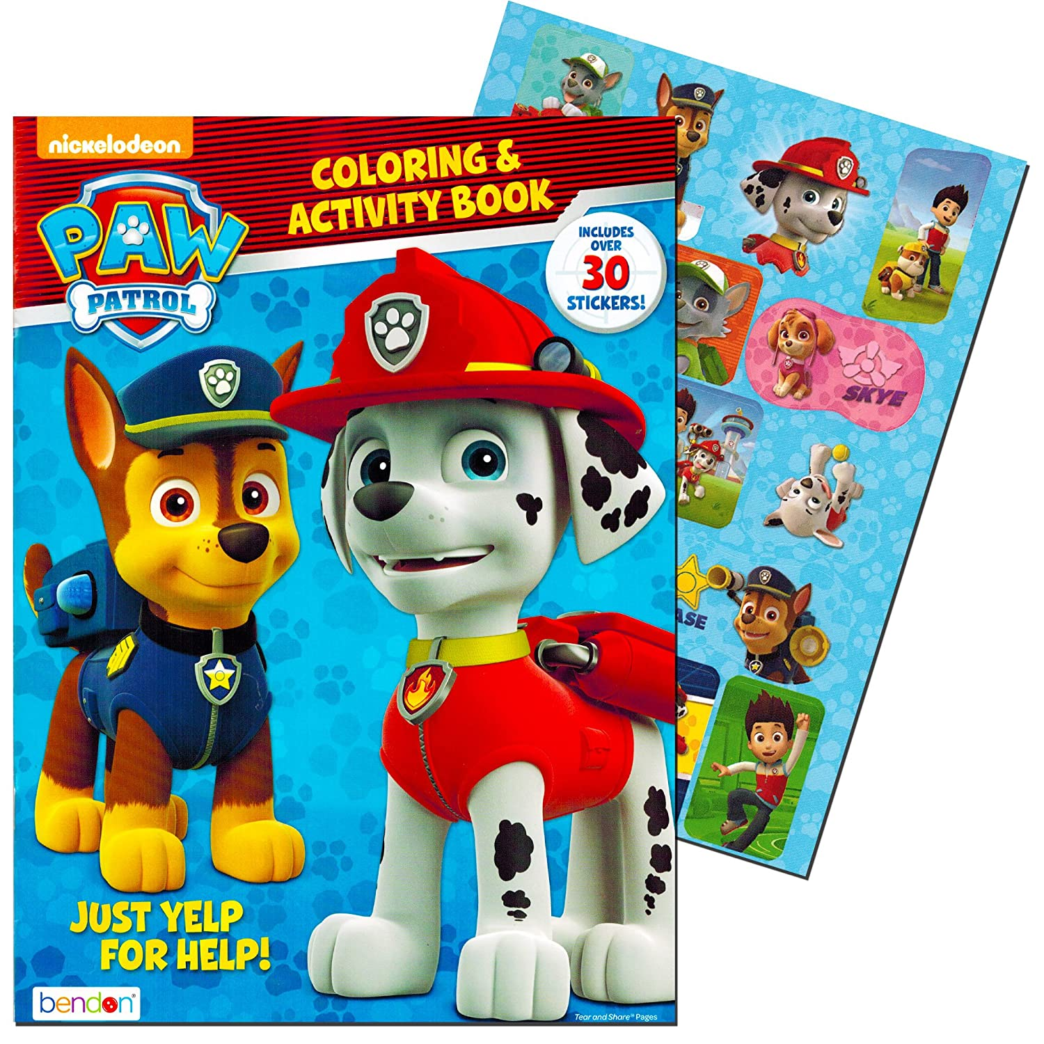 Amazon Paw Patrol Coloring Activity Book Toys Games