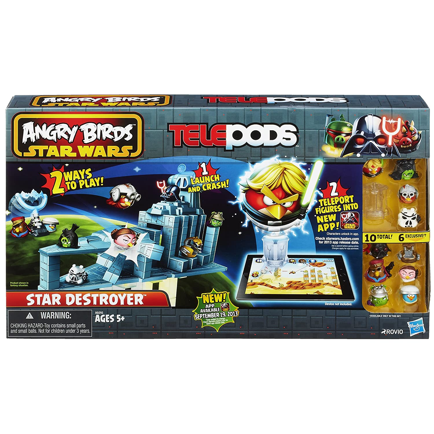 amazon com angry birds star wars telepods star destroyer set