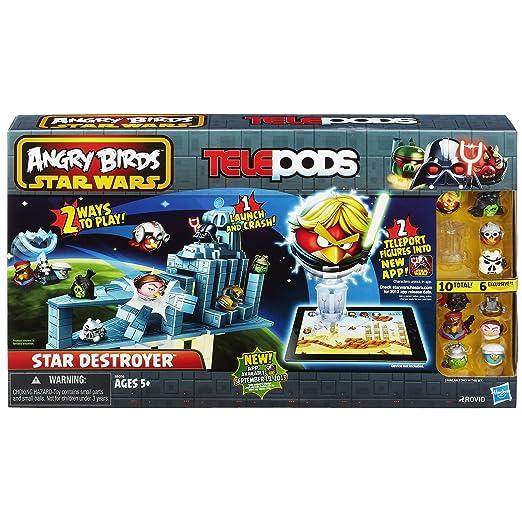 Amazon.com: Angry Birds Star Wars Telepods Star Destroyer Set ...