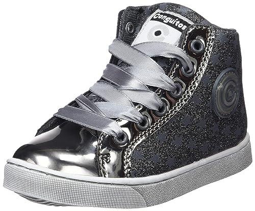 Conguitos Bota Basket Glitter con Luz, Zapatillas sin Cordones para Niñas: Amazon.es: Zapatos y complementos