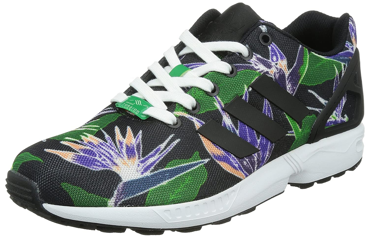 free shipping 22308 d46d7 adidas Originals Mens Torsion ZX Flux Trainers