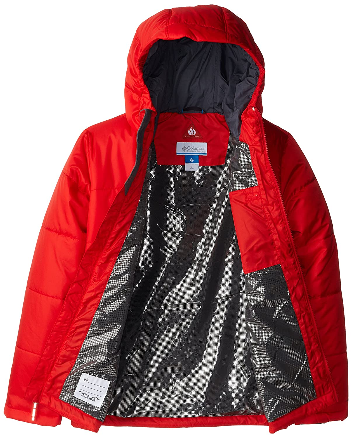 Amazon.com : Columbia Sportswear Boy's Shimmer Me Jacket : Sports ...