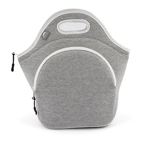 Amazon.com: Bolsas de almuerzo de algodón., L, Gris Claro ...