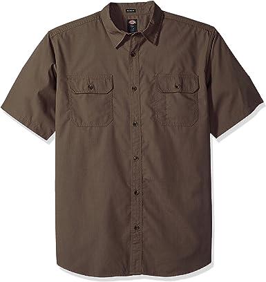 Dickies Hombre WS529 Manga corta Camisa de botones: Amazon.es: Ropa y accesorios