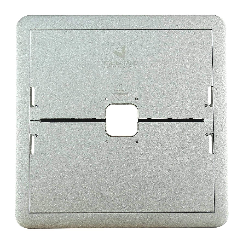 Innovativer Laptop Stand 7-stufig verstellbar, extrem flach,, Material Edelstahl, in Silber