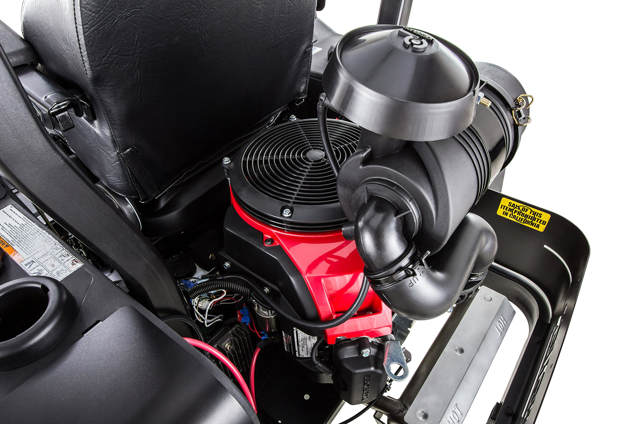 Swisher Z21554CPHO 21.5HP Reponse Gen 2 Honda Ztr Commercial Pro, Black, 54'' by Swisher (Image #10)
