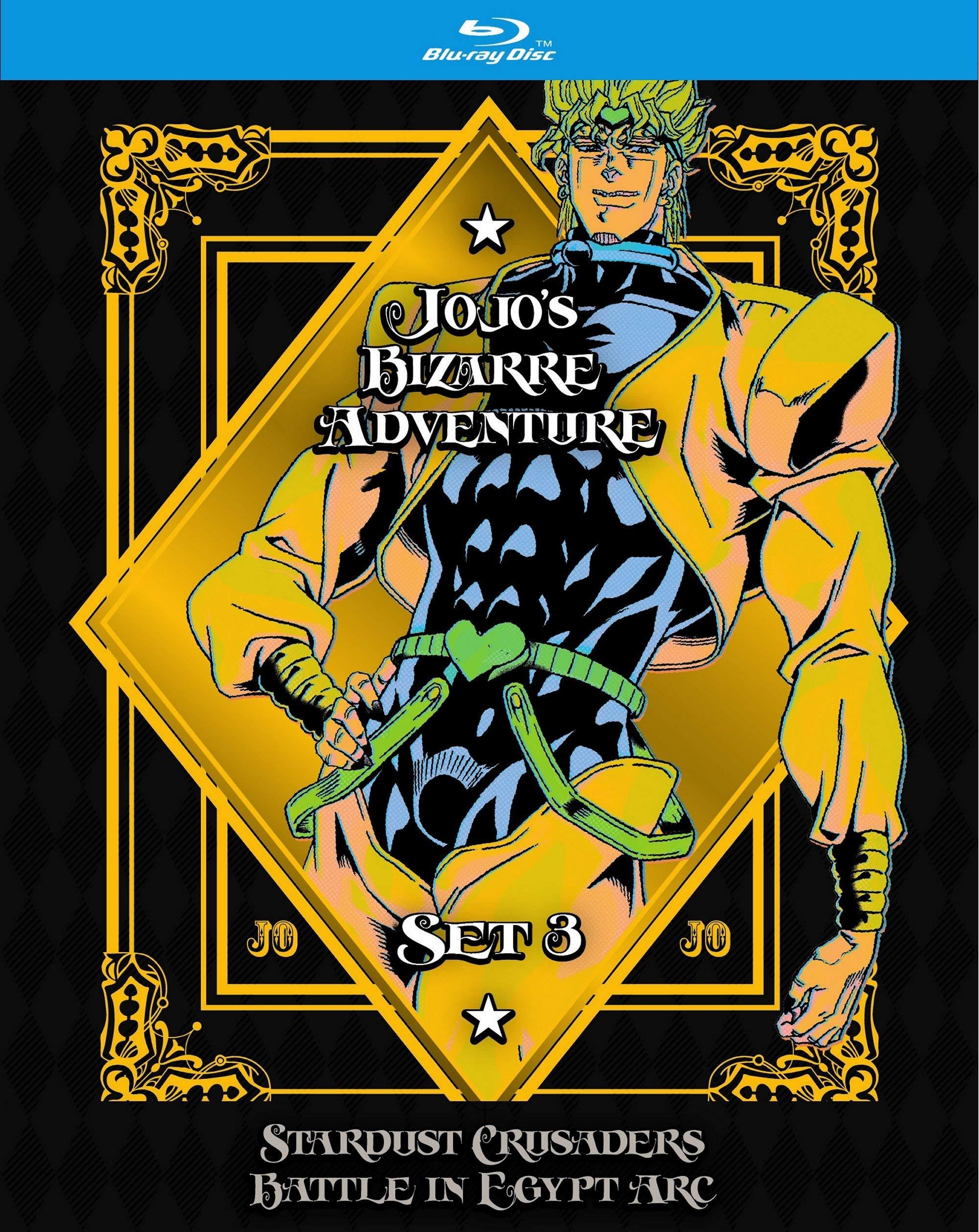 Blu-ray : Jojo's Bizarre Adventure Set 3: Stardust Crusaders (Limited Edition, Boxed Set)