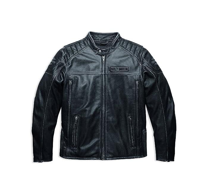 De Harley Davidson Midway Distressed Leather Jacket 98108 ...