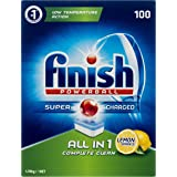 Finish Powerball All in One Dishwasher Tablets, Lemon Sparkle