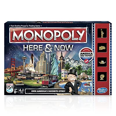 Monopoly Here & Now Game: US Edition: Toys & Games