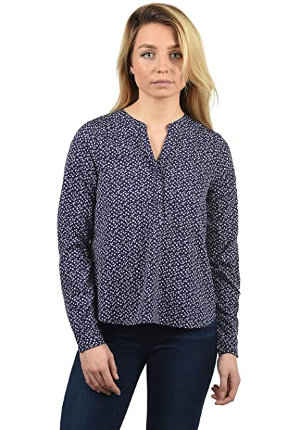 Blend She Amelia - Blusa para Mujer, tamaño:XS, Color:Peacoat Flower