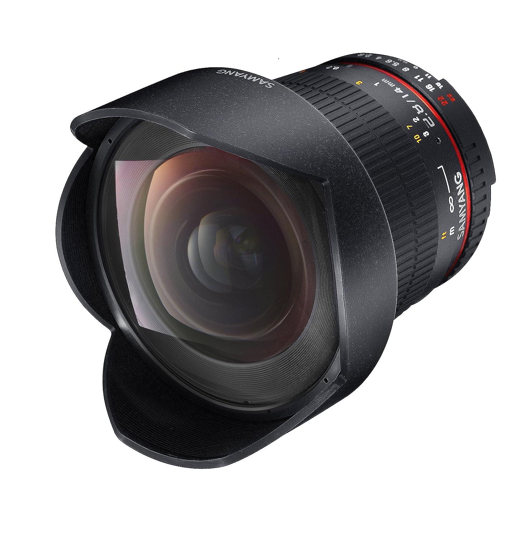 2.8 ED IF UMC wide angle Lens SAMYANG AE 14mm f for Nikon