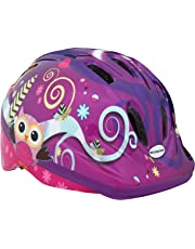 Schwinn Girls Owl Toddler Helmet, Purple, Small  (Age 3+)