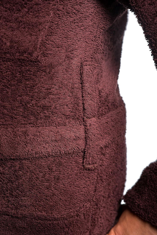 Sophie Bernard Bademantel Saunamantel Saunamantel Saunamantel Benedict Kollektion Bath & Spa. Fühl Dich wohl  3XL-Größe braun. Entspricht der untersetzten Größe 29-33 und internationalen Größe 3-5XL  B016YDI5SA Bademntel Das hochwertigste Ma bf63f7