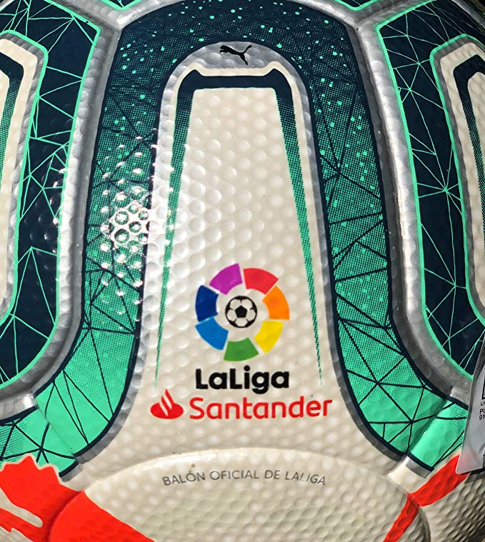 PUMA La liga Santander 2019/20 Official Match Ball White Green ...