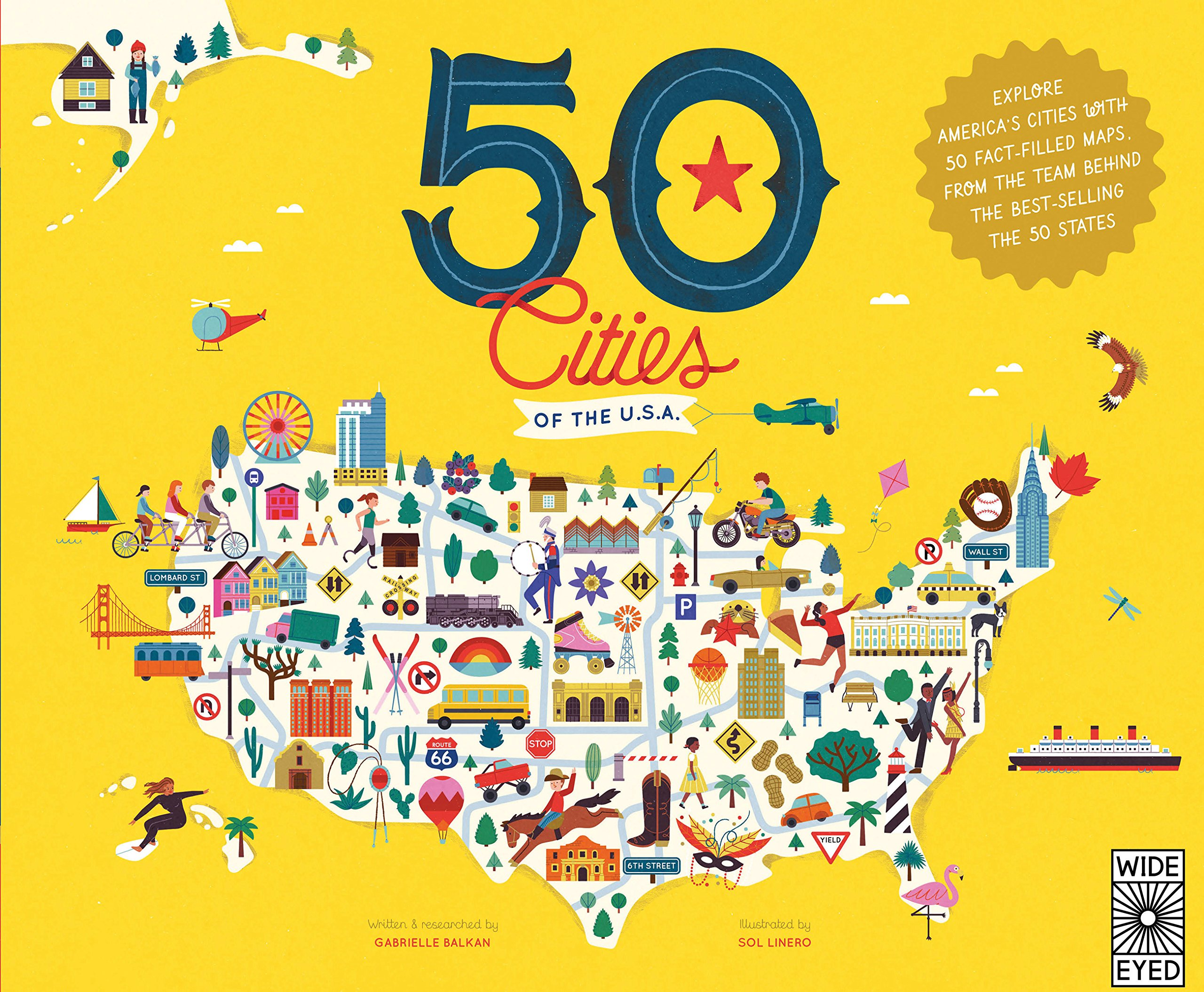 50 Cities of the U.S.A.: Explore America\'s cities with 50 fact ...