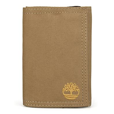 582152923be7 NEW Genuine TIMBERLAND Mens Velcro Canvas Trifold Wallet (With Gift Box) -  D37388 (