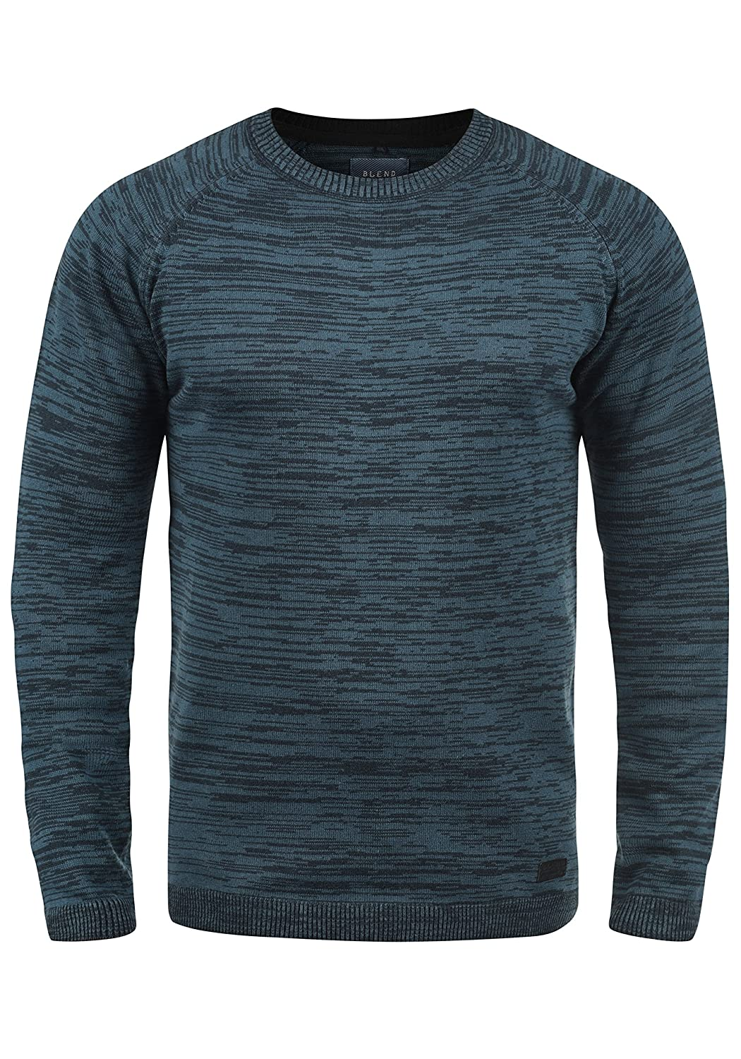 BLEND 20701699ME Men's Knit Pullover Sweater