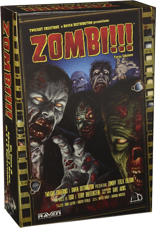 Zombi!!! - Juego de mesa (tercera edición, versión en italiano) [Importado de Italia]: Raven Distribution: Amazon.es: Juguetes y juegos