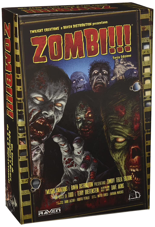 Zombi!!! - Juego de mesa (tercera edición, versión en italiano ...