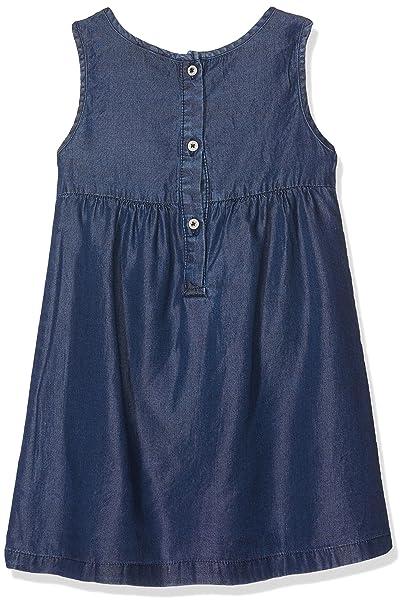 Talla Para 92 Azul Niñas Vestido Medium Chicco Blue 9093702000000 pUqv11