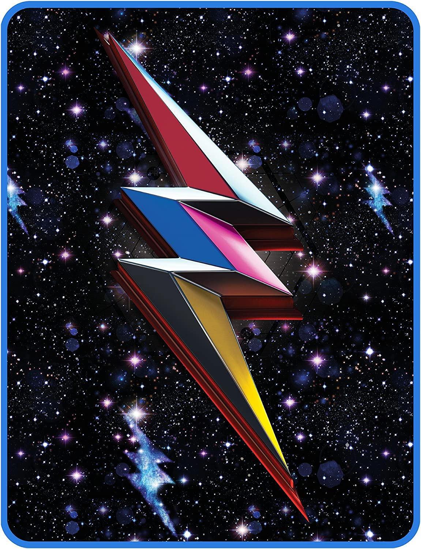 Saban Power Rangers Blanket Geo Shard Plush Throw