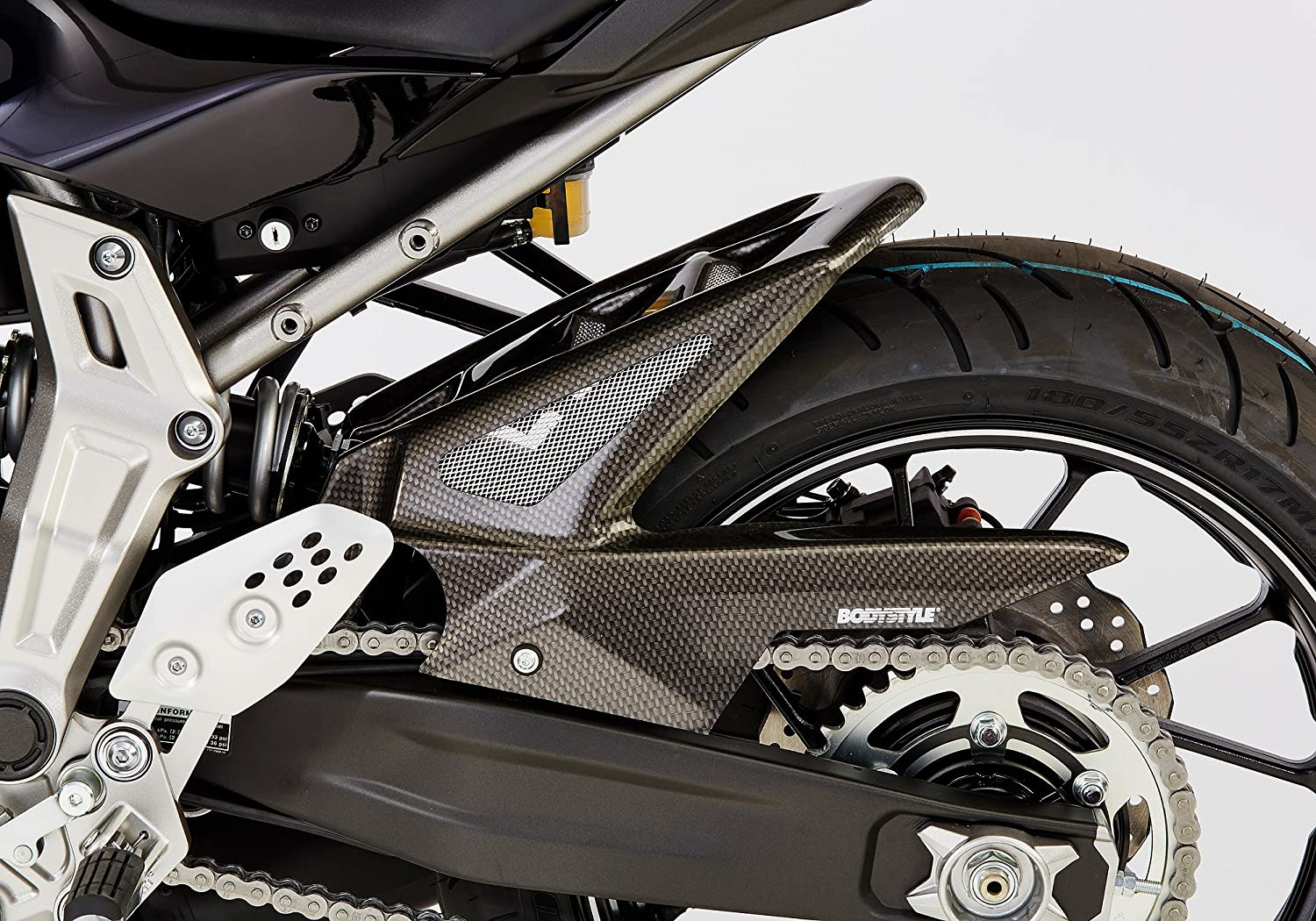 1961 Bodystyle/ /Parafango posteriore Carbon Look MT-07/motocage RM04/2015/ /2016/